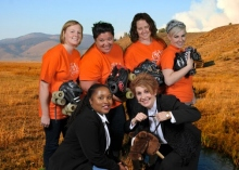 Bid spotters Rollin\' and ridin\' into the Girls\' School of Austin Spring Swing Gala