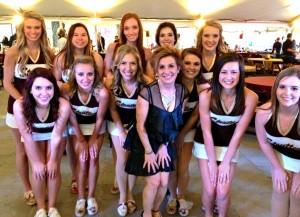 TSU cheerleaders